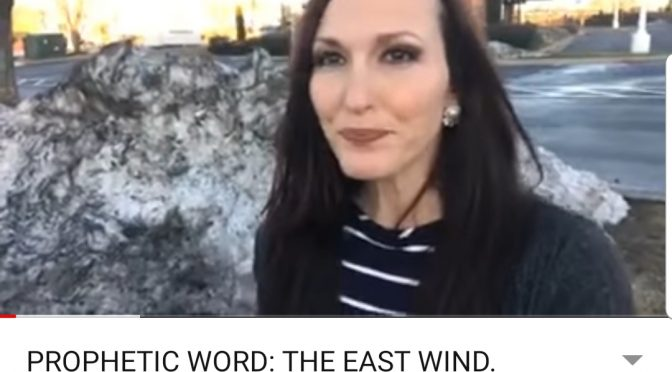 PROPHETIC WORD: THE EAST WIND. MIRACLE PARTING OF THE WATERS