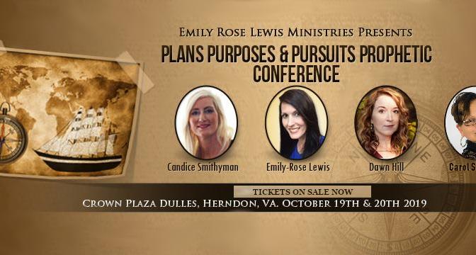 Prophetic Conference 2019: Plans, Purposes & Pursuits